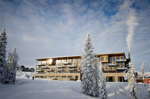 The Radisson Blu Resort and Residences, a ski-in/ski-out hotel in Trysil