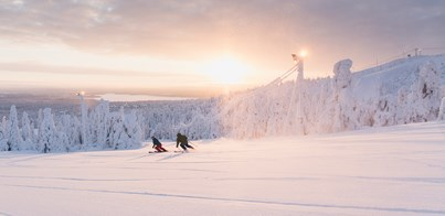 SKI IN FINNISH LAPLAND FOR BEGINNERS