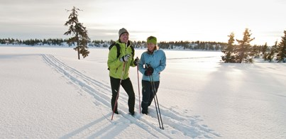 THE BEST CROSS-COUNTRY SKIING IN EUROPE
