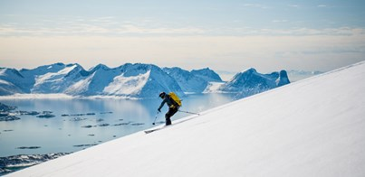 SAIL AND SKI HOLIDAYS IN ARCTIC NORWAY 2019-20