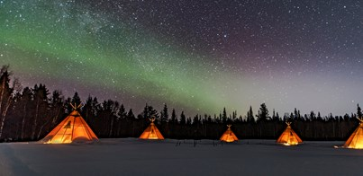 GLAMPING IN THE SNOW AND OTHER UNIQUE NORTHERN LIGHTS HOLIDAYS